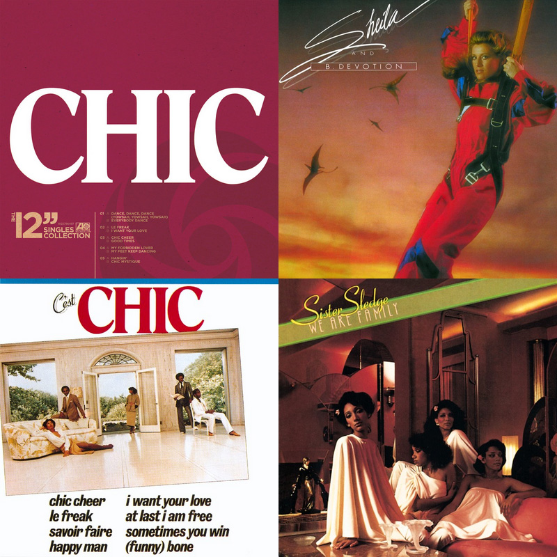 Bernard Edwards & Nile Rodgers – The Sound Of Chic 1977-1983