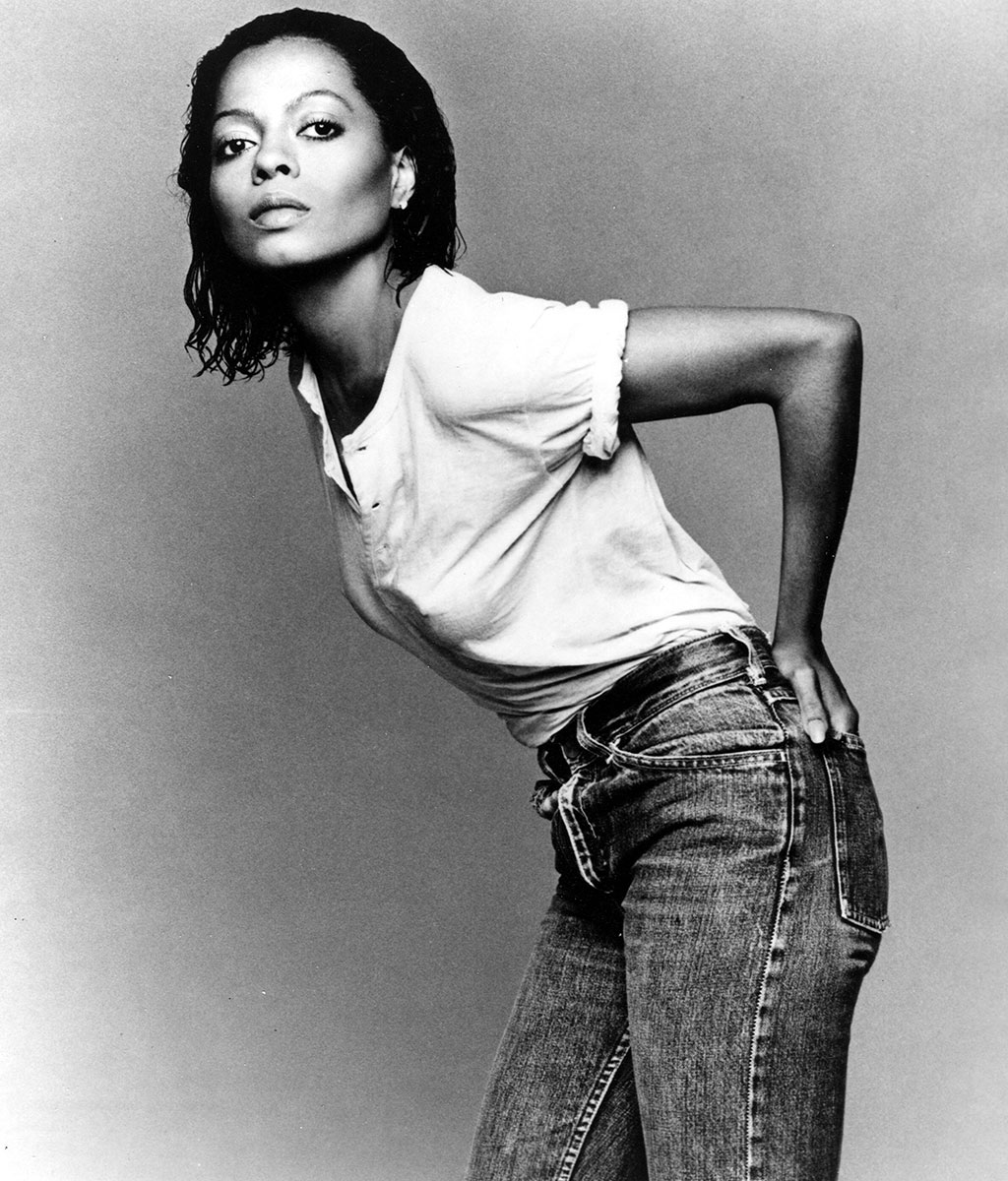 Diana Ross by Franceso Scavullo